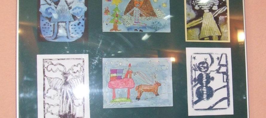 Žiacke Vianočné pohľadnice v SVD