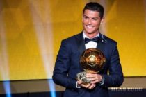 Cristianovi Ronaldovi Zlatá lopta!