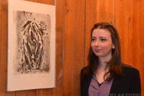 Novosadská umelkyňa Alena Klátiková vystavuje v Belehrade
