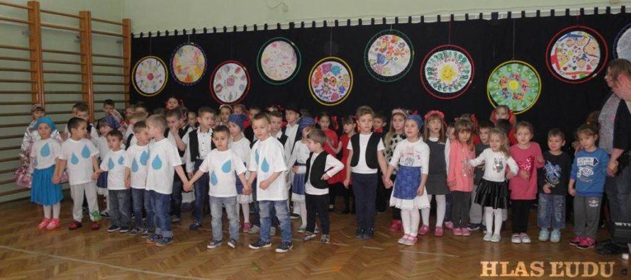 Program v kysáčskej škôlke