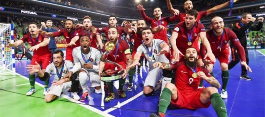 Portugalsko je novým futsalovým majstrom Európy!
