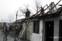 Požiar v Kysáči