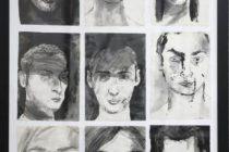 Výstava portrétov v Kovačici