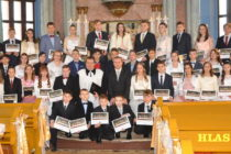 Konfirmačná slávnosť v Petrovci