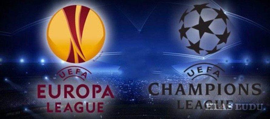 Štvrťfinalisti UEFA Champions league a Europa league!