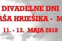 Divadelné dni Tomáša Hriešika – Máška