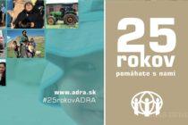 Humanitárna arozvojová organizácia ADRA Slovensko oslavuje 25 rokov svojej existencie