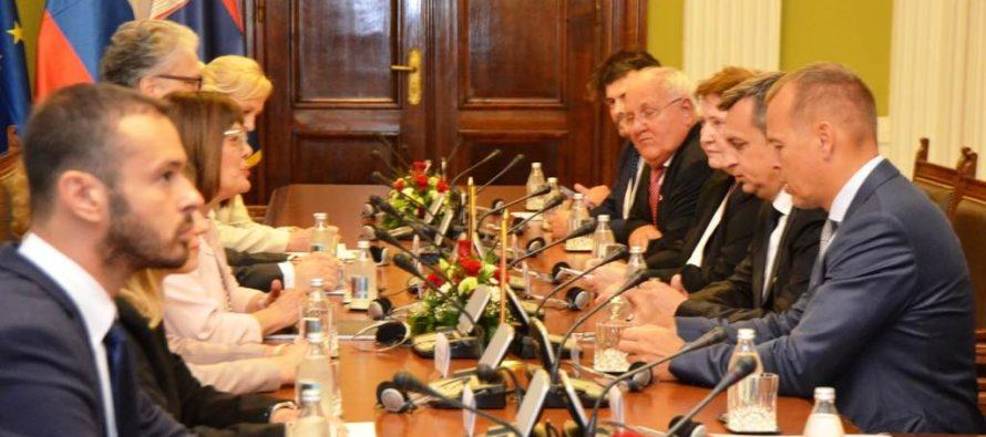 Andrej Danko na návšteve Srbska