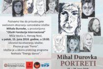 Výstava Michala Ďurovku v Čiernej Hore