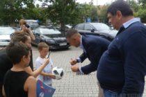 Aleksandar Kolarov hosť predsedu Obce Stará Pazova