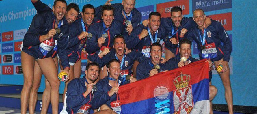 Srbsko je vodnopólovým šampiónom Európy!