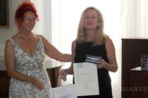 STRETNUTIE SLOVENSKÝCH NOVINÁROV: Cena Anny Kolárovej Nemogovej redaktorke Dragane Marinkovićovej