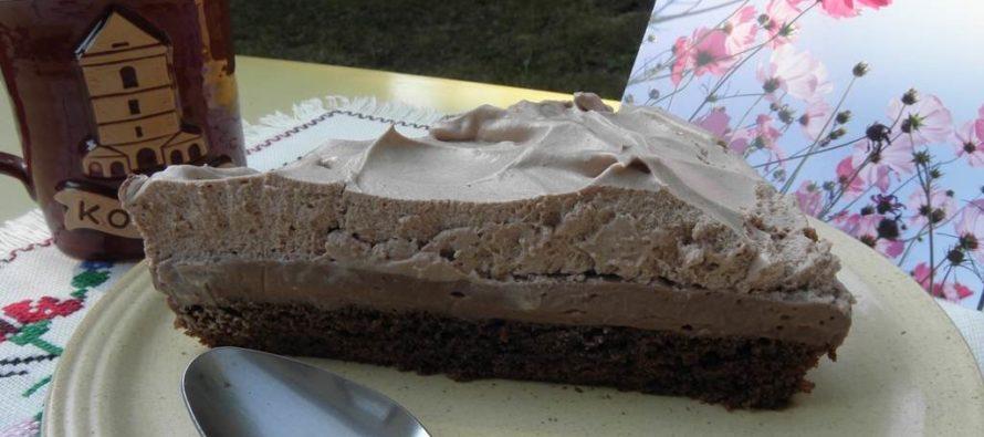 Torta sčokoládovým mliekom