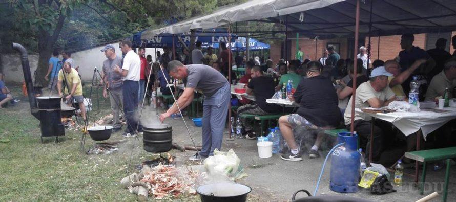 Súťaž vo varení loveckého guláša