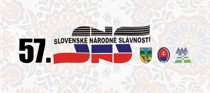 Program 57. Slovenských národných slávností