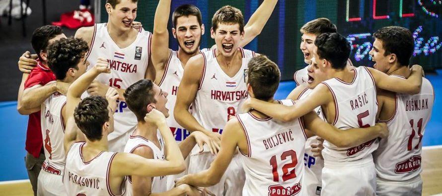 Chorvátska U-16 reprezentácia sa stala majstrom Európy v Novom Sade!