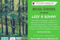 Lesy a roviny v Lučenci