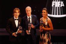 Luka Modrić najlepším futbalistom sveta!