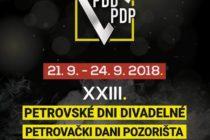 Petrovské dni divadelné 2018