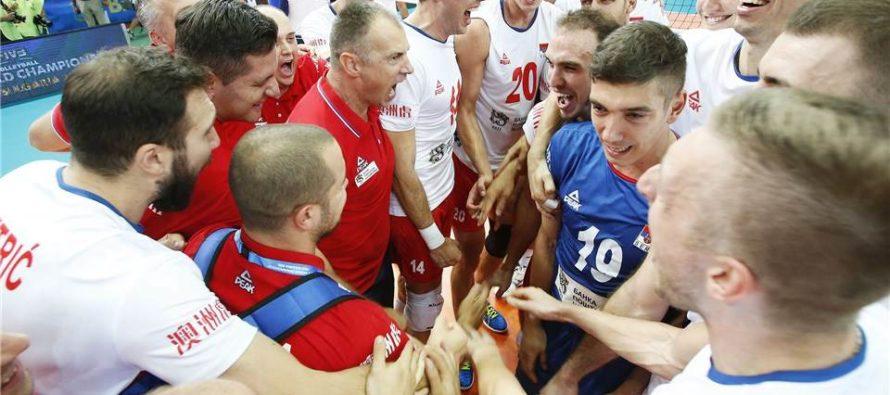 Srbsko na F6 majstrovstiev sveta!