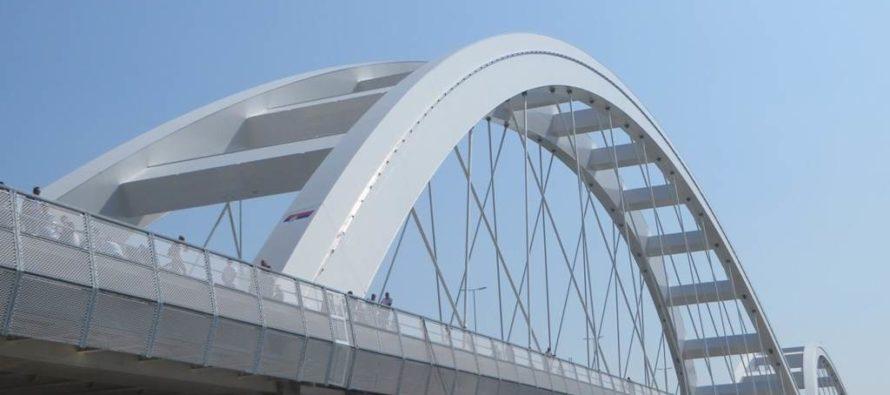 Otvorenie Žeželjovho mostu