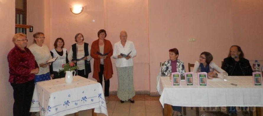 Poetka Ileana Ursuová v Hložanoch