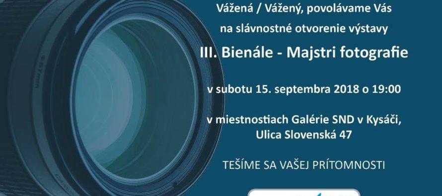Výstava fotografií v Kysáči