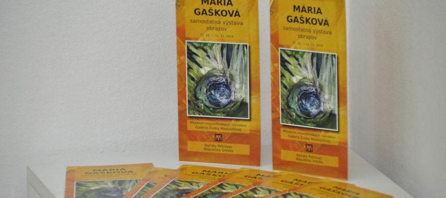 Márii Gaškovej k sedemdesiatke výstava v Petrovci