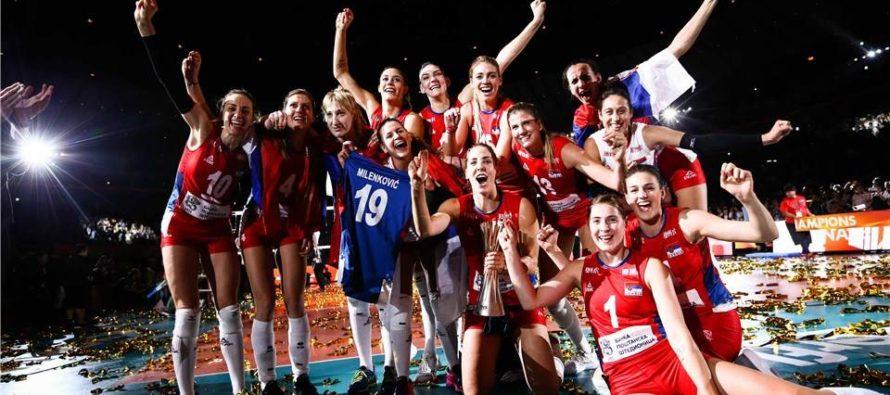 Volejbalistky Srbska sú svetovými šampiónkami!