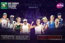 WTA finále v Singapure
