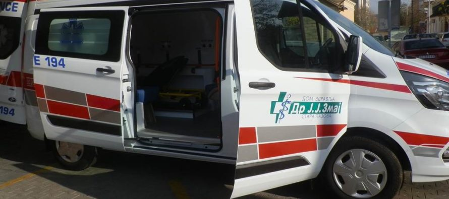 Stará Pazova: Nová sanitka do Domu zdravia