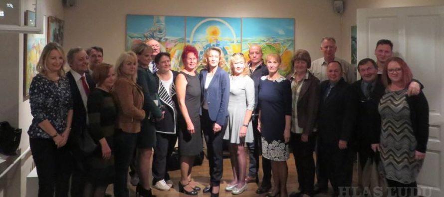 Spoločné stretnutie súčasných členov NRSNM