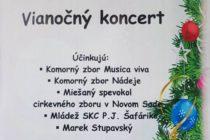 Vianočný koncert v Novom Sade