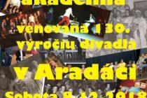 130. výročie divadla v Aradáči