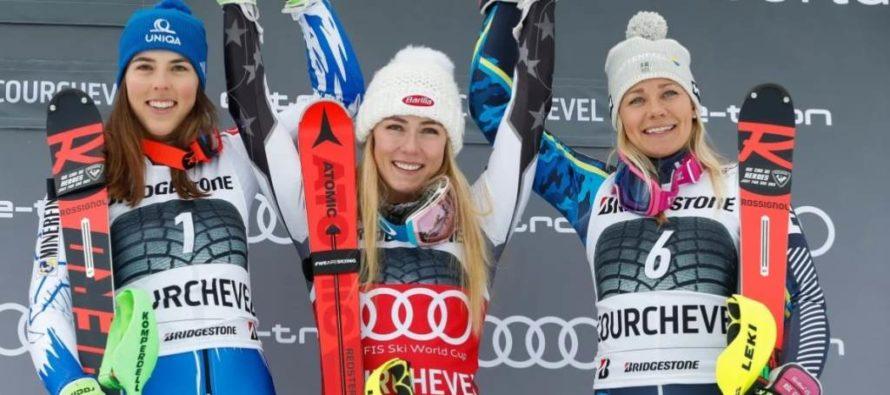 Triumfy Shiffrinovej a Yulea v alpskom lyžovaní!