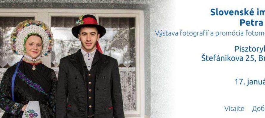 Fotografie a monografia Petra Dešića v Bratislave