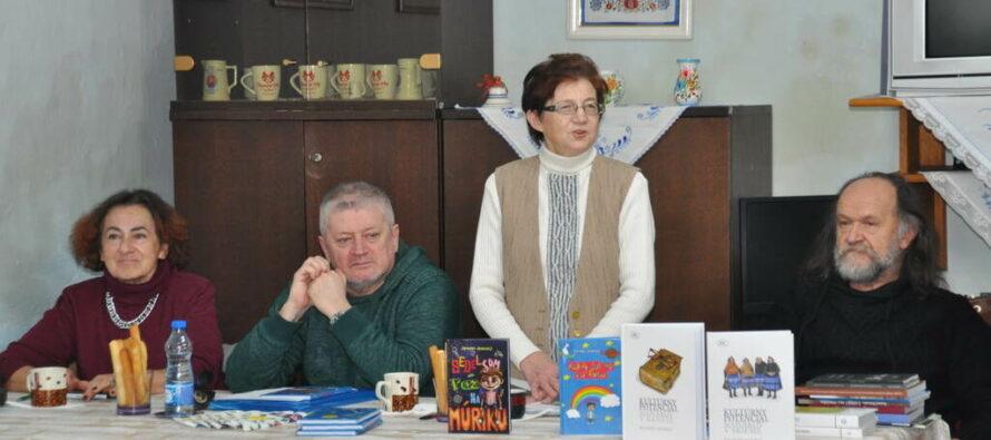 Zima s knihou: Jesenský s petrovskými spolkárkami