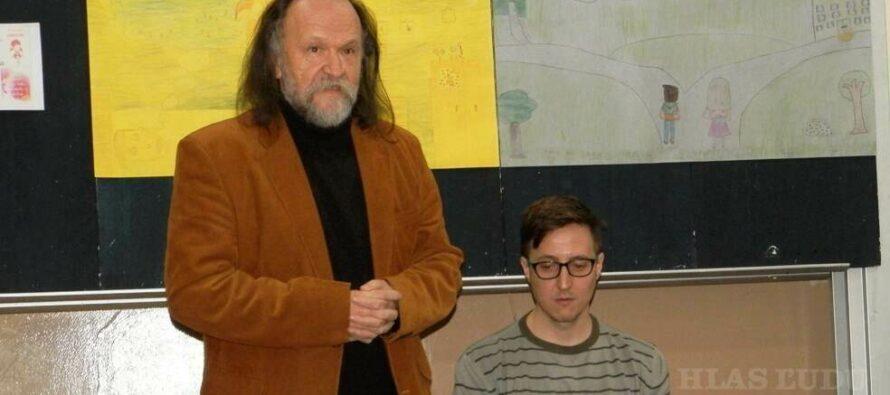 ZIMA S KNIHOU: Mladý autor medzi padinskými žiakmi