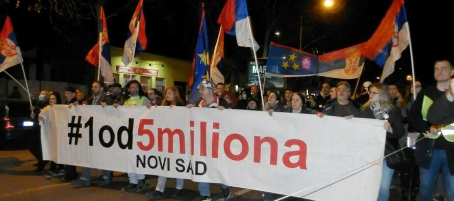 9. občiansky protest v Novom Sade