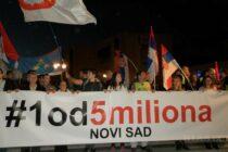 Protest v Novom Sade už desiaty raz