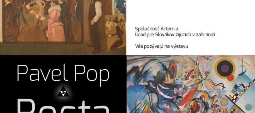 Výstava Pavla Popa v Bratislave