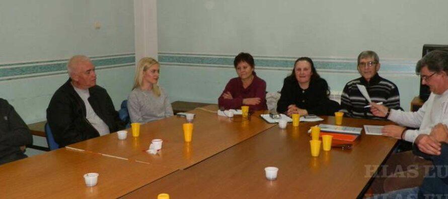 STARÁ PAZOVA: Volebné zhromaždenie ochotníkov
