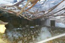 Hasiči v noci zasahovali pri požiari v Padine