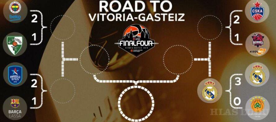 Rozhodujúce zápasy Euroligy v boji o F4!