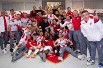 Červená hviezda si zabezpečila titul futbalového majstra Srbska!