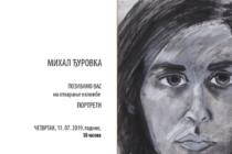 Portréty Michala Ďurovku v Belehrade