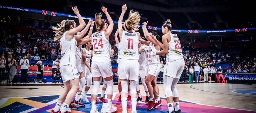 Basketbalistky Srbska postúpili do semifinále majstrovstiev Európy a kvalifikovali sa na Olympijské hry!