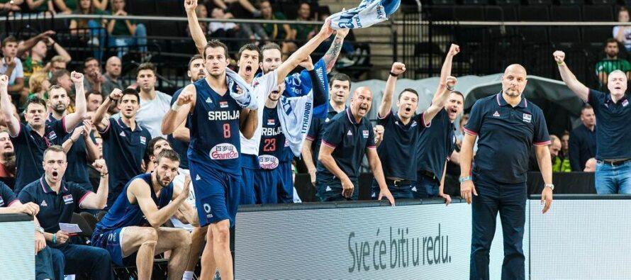 Srbsko znovu vyhralo nad Litvou!