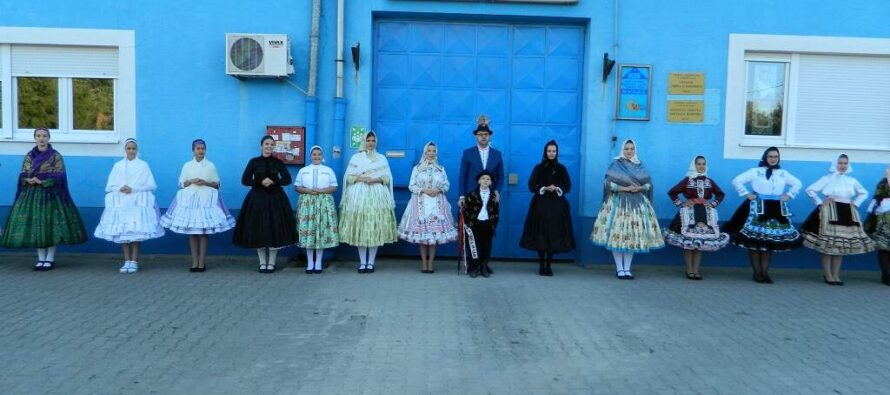 4. Festival slovenských ľudových krojov v Kysáči