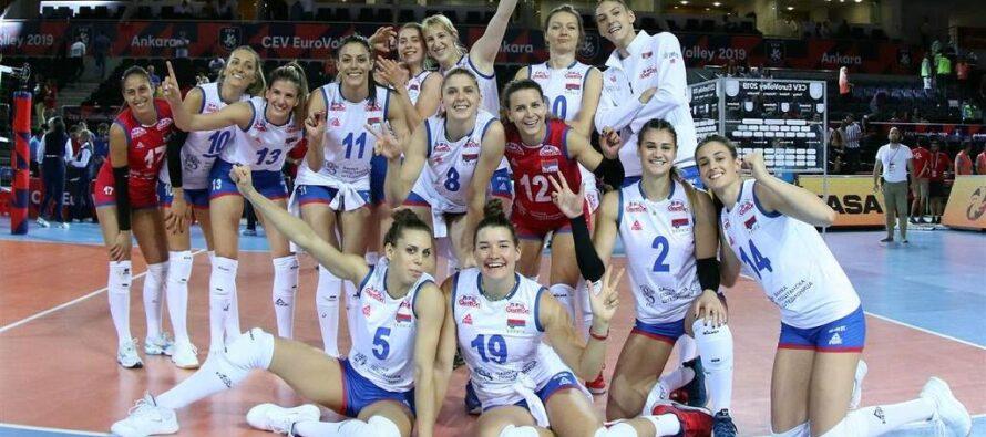 Volejbalistky Srbska postúpili do štvrťfinále majstrovstiev Európy!